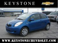 It's hard to resist this blue 2008 Toyota Yaris S!