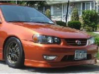 TRD FRONT LIP ... Toyota Corolla ... 4 Door ... Year: