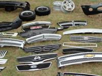 Any plastic OEM Toyota bumper that we have in stock,