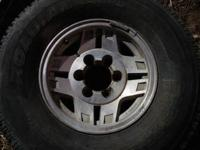 I have a collection of 5 stock 1989 toyota 4runner rims