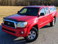 2005 Toyota Tacoma 2.7L ENGINE 71K MILES MANUAL 4X4 SR5