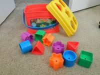 I have a like new shape sorter toy by Fisher Price -