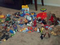 We went through my son's room recently and cleaned out