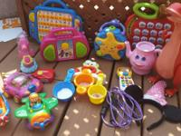 Large toy lot $25 obo Bath toy lot $6 Octonauts- $8