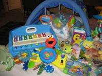 Lot of Infant and Toddler Toys, all in good condition.