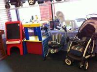 STROLLERS, WALKERS, BUMBO SEATS, EXERSAUCERS, SWINGS,
