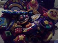 I have a large selection of baby/toddler toys,
