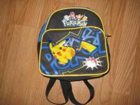 Pokeman knapsack for kid $3.00. Ninja Turtle knapsack