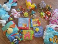 Girl toy lot all for $ 30 includes vtech learn to walk,
