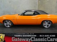 Stock #539-TPA 1970 Dodge Challenger $99,000  Engine: