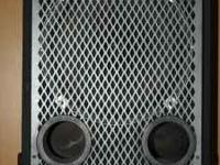 Nice British bass cab available..model 1153t. Single
