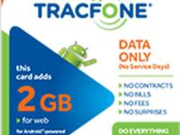 Do have a tracfone service need extra internet to your