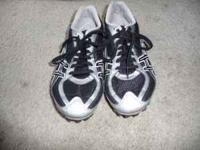 Track shoes, size 6, wore a couple times. . Location:
