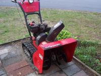 TRACK SNOW BLOWER WORKS GREAT WE ARE MOVING MUST SELL