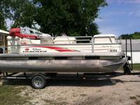 2006 Tracker 18 ft, 50 hp four stroke, trailer with all