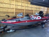 2012 BASS TRACKER PRO 175 TXWRARE 75 HP MERCURY 2