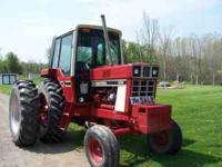 1086 International tractor, good condition, 4200 hours,