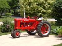 For Sale: 1952 Farmall Super M Tractor. Fully restored