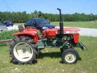 diesel tractor good condition. call  Location: mt.
