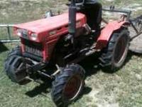 I have a 4 wheel drive compact Kabota tractor for sale.