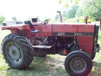 I have a 560 IMT tractor. It has a 4 cylinder Perkins