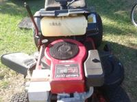 selling a tractor works great for mowing grass want