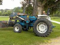 6610 ford Tractor with Loader One Owner Diesel 3 Point