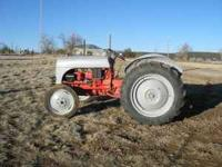 Tractor is in great shape. Starts easily and does not