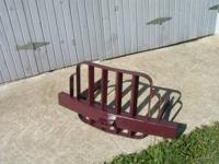 Bull bar heavy duty,unlike reproductions. Rear arms are