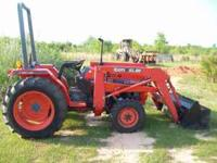 Kubota &kioti Tractor Kubota l3010 deisel with loader