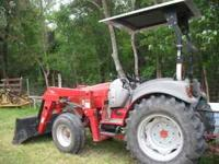 McCormick GX50 -50 hp tractor 2005 model 350hrs front