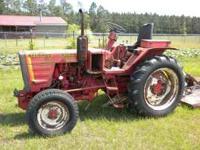 (2) 250 Belarus diesel tractors for sale. One runs, one