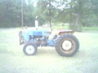 I have a 1974 Ford 2000 gas tractor for sale im asking