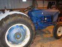 Ford 3000 Diesel Tractor With Factory Power Steering
