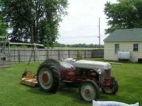 ford 9n tractor totally rebuilt engine and clutch by