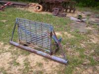 Tractor grill guard, this came off of a Ford 1910, it