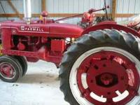 International Harvester H tractor with 540 PTO. 5 spd