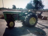 PRICE REDUCTION! Tractor john deere 2020, 1966- late