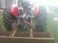 Boone Pole Culdivater 2 bottom plow 6ft yard box.