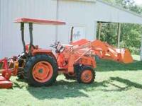 Kubota L2550 30 HP (25 PTO HP) tractor w/front end