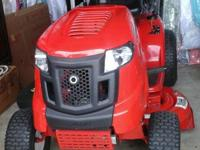 In like new condition 2010 troy bilt tractor ,very