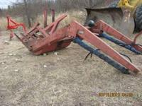 Twin Draulics tractor loader, came off of an 800 series