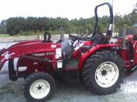 Last left over 2010 model. Woods loader and Woods