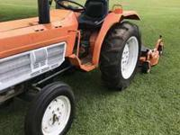 THE FOLLOWING ITEMS ARE INCLUDED:1 - 24 hp Tractor with