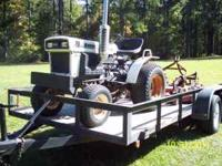 Bolens 17 hp. tractor-3 cyl. diesel--5' finishing