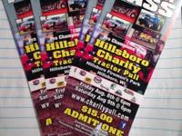 I have four tickets for the Hillsboro charity tractor