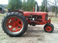 For sale: SC Case tractor with 3 point hitch, narrow