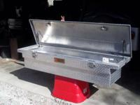 I have a tractor supply chrome plated truck toolbox