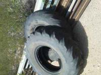 14.00 -24 Yokohama tractor tires , there is a little