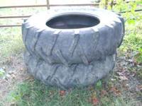 These are used 16.9x30 with about 30% tread they are 6